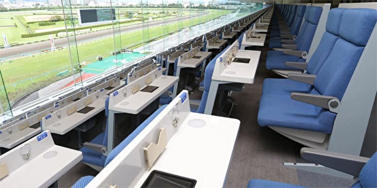 競馬女子が楽しむ方法その5:指定席でレースを見る